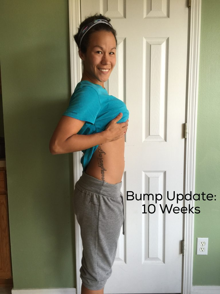 Diary of a Fit MommyPREGNANCY: 10 Week Bump Update