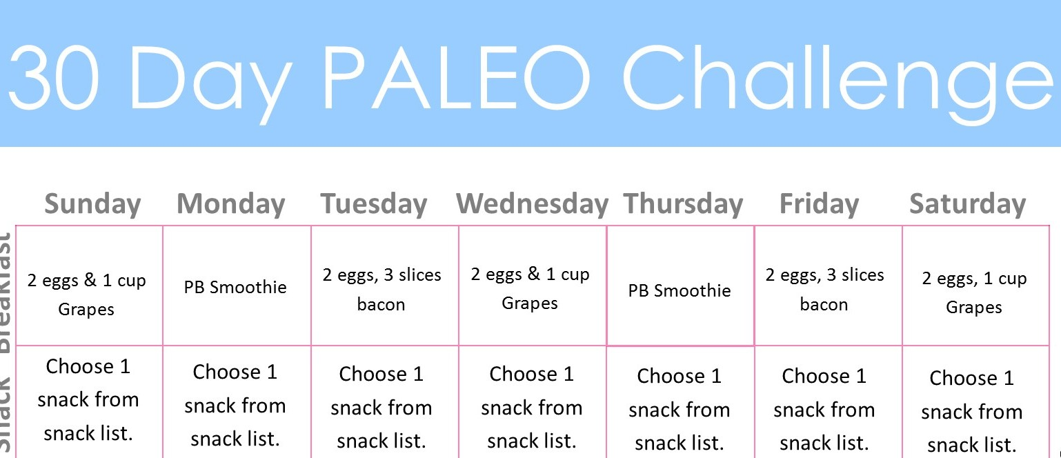 Diary of a Fit Mommy30 Day Paleo Challenge - Diary of a Fit Mommy