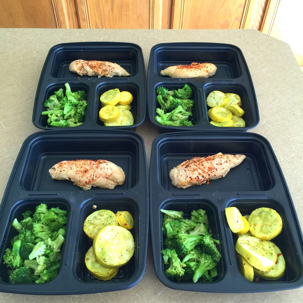 Diary Of A Fit MommyChicken & Veggie Low-Carb Meal Prep