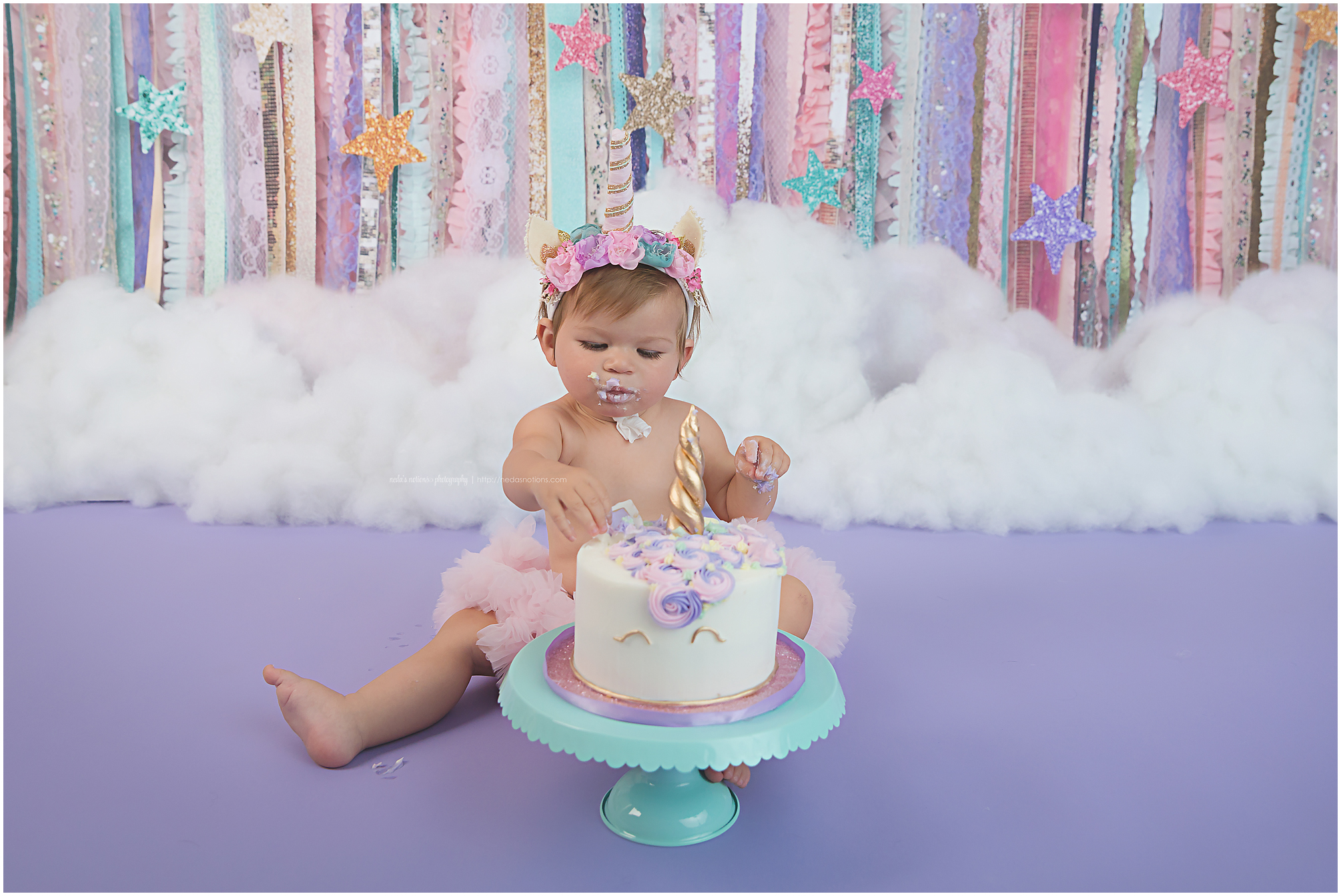 Baby Smash Cake Unicorn
