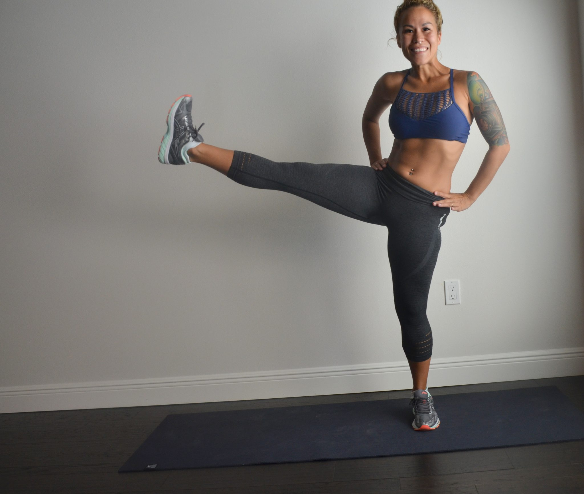 how to get rid of saddlebags at the gym
